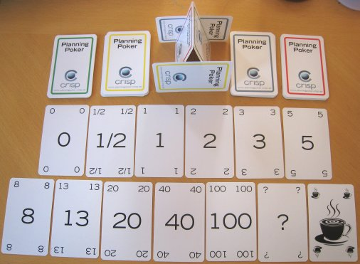 Carta do Planning Poker